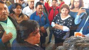 Xalapa, Ver., 15 de febrero de 2019.- Pescadores de la zona sur del Estado se manifestaron en la SEDARPA para exigir que se les deje trabajar sin ser acosados, ya que su permiso para desempeñar su trabajo expiró.