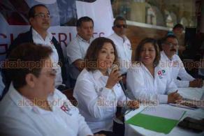 Xalapa, Ver., 16 de febrero de 2019.- Integrantes de la asociación política