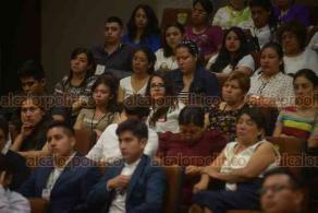 """Xalapa, Ver., 22 de febrero de 2019.- Foro Universitario """"La importancia de los retos indígenas. Mitos retos y prospectiva en el Siglo XXI"""