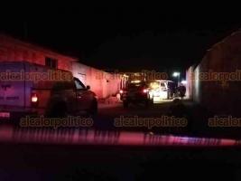 Xalapa, Ver., 23 de febrero de 2019.- La noche de este viernes una niña perdió la vida después de ser atropellada accidentalmente por su padre, en domicilio de la calle San Judas Tadeo en la colonia Lomas de Santa Fe (Homex).