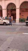 Veracruz, Ver., 23 de febrero de 2019.- Un hombre de la tercera edad perdió la vida al sufrir un aparente ataque al corazón en la entrada hacia el restaurante Sanborns, en la avenida Independencia.
