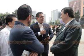 Ciudad de México, 18 de marzo de 2019.- El exjefe de Gobierno, Cuauhtémoc Cárdenas, homenajeó a su padre, el general Lázaro Cárdenas del Río, en el marco del 81 aniversario de la expropiación petrolera.