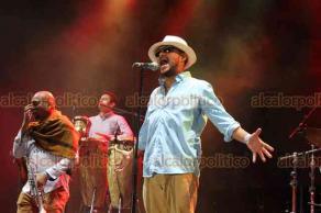 Papantla, Ver., 21 de marzo de 2019.- Los Aguas Aguas prenden el nicho de la música con su participación en Cumbre Tajín.
