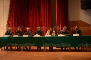 Xalapa, Ver., 22 de marzo de 2019.- Sesión del Comité de Meteorología del Estado de Veracruz y Conmemoración del Día Meteorológico Mundial 2019 en la Facultad de Contaduría de la UV.