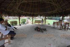 Papantla, Ver., 22 de marzo de 2019.- El Nicho de la Purificación es uno de los más importantes del Parque Takilhsukut en donde la medicina tradicional es el principal atractivo.