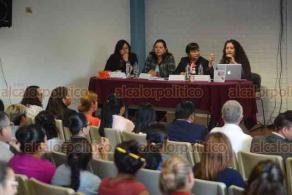 Xalapa, Ver., 25 de marzo de 2019.- Presentación del libro