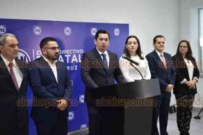 Xalapa, Ver., 26 de marzo de 2019.- Juan Manuel Siu Vargas, vocero de Acción Nacional ofreció conferencia de prensa en las oficinas del Comité Directivo Estatal del Partido Acción Nacional.