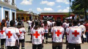 Coatepec, Ver., 26 de marzo de 2019.- Este martes dio inicio la Colecta Nacional 2019 de la Cruz Roja Mexicana en Coatepec así como en el resto del país, se espera que la ciudadanía se sume a la causa.