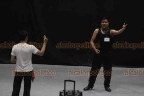 Xalapa, Ver., 18 de abril de 2019.- En el auditorio del SNTE, profesores de diversas partes de la República participan para obtener una certificación en Danza Mexicana por parte del Ballet Internacional del Estado de Veracruz, con constancia de la Secretaria de Educación Pública.