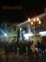 Xalapa, Ver., 19 de abril de 2019.- Miles de fieles conmemoraron la Procesión del Silencio encabezada por el Arzobispo, Hipólito Reyes Larios, que partió de la iglesia