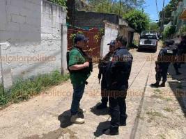 Minatitlán, Ver. 20 de abril de 2019.- El Secretario de Seguridad Pública, Hugo Gutiérrez Maldonado coordina personalmente el operativo que inició la noche del sábado para tratar de identificar y localizar a los autores del multihomicidio.