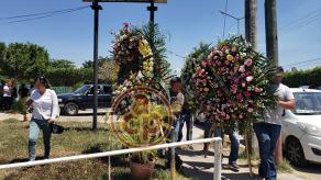 Minatitlán, Ver., 20 de abril de 2019.- En la funeraria, no sólo prepararon los cuerpos de varios de los fallecidos, sino también velaron a otros más.