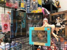 Xalapa, Ver., 19 de mayo de 2019.- Este domingo continúa en el Gimnasio Universitario la UV Cómic segunda convención de cómics, manga, videojuegos y coleccionables donde los amantes del anime podrán encontrar diversos productos de series conocidas.