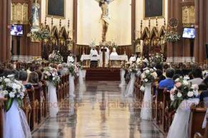 Xalapa, Ver., 19 de mayo de 2019.- Durante misa dominical, el arzobispo de Xalapa, Hipólito Reyes Larios, lamentó la situación en la que se encuentra la sociedad, ante todos los hechos de violencia que se han suscitado en días recientes.