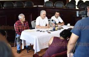 Xalapa, Ver., 20 de mayo de 2019.- El Alcalde Hipólito Rodríguez dio a conocer que el Ayuntamiento procederá de manera legal en contra de las personas que cometen robo de agua.
