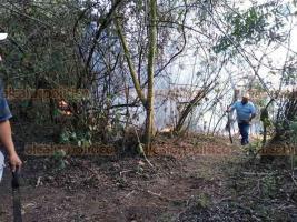 Nogales, Ver., 20 de mayo de 2019.- Brigadistas de la CONAFOR, SEDEMA, Protección Civil municipal y vecinos de las comunidades aledañas combaten tres incendios forestales en la zona.