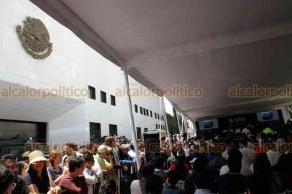 Ciudad de México, 26 de mayo de 2019.- En el Complejo Cultura Los Pinos se efectúa la subasta del SAE de automóviles confiscados al narcotráfico y deudores. Lo recaudado será destinado a poblaciones pobres de Oaxaca.