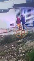 Xalapa, Ver., 15 de junio de 2019.- Este sábado, a las 5:30 horas, un individuo se introdujo a una vivienda pero se lesionó al intentar escapar tras ser descubierto. Vecinos lo sometieron y entregaron a la Policía. Ocurrió en las calles José Mancisidor y Ángel Carvajal de la colonia Zapata.