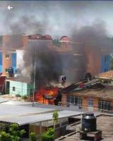 Coatepec, Ver., 15 de junio de 2019.- Este sábado, un incendio consumió una vivienda en la calle Gutiérrez Nájera número 9, de este municipio. Por fortuna, no hubo lesionados; al lugar acudieron bomberos para controlar el siniestro.