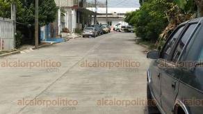 Martínez de la Torre, Ver., 17 de junio de 2019.- Elementos de la Policía Municipal y de la Fuerza Civil acordonaron el lugar en donde quedó el cuerpo sin vida del eléctrico automotriz de 70 años.