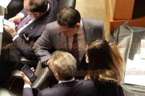 Ciudad de México, 26 de junio de 2019.- Los legisladores de la Comisión Permanente se confrontan por las políticas gubernamentales. Oposición acusa el cierre de programas y despidos que afecta a miles de familias.