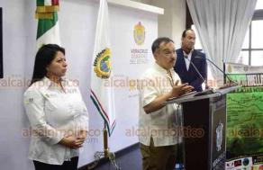 Xalapa, Ver., 16 de julio de 2019.- Organizadores presentaron el Eco Reto Huella