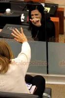 Ciudad de México, 17 de julio de 2019.- En el Senado, Margarita Zavala asistió al foro