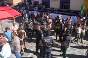 Xico, Ver., 22 de julio de 2019.- A unas horas de que inicie la Capea 2019 se alistan autoridades y visitantes para disfrutar la suelta de toros.