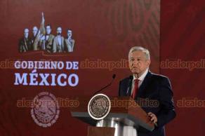 Ciudad de México, 22 de julio de 2019.- El presidente Andrés Manuel López Obrador indicó que tiene plena confianza en el secretario de Seguridad, Alfonso Durazo, tras salir un video que busca vincularlo con el CJNG.