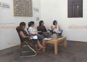 Xalapa, Ver., 23 de julio de 2019.- Integrantes del Comité organizador, lanzaron la convocatoria para participar en la 9a Bienal de Cerámica Utilitaria Contemporánea 2019, la cual estará vigente del 23 de julio al 15 de octubre.