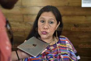 Xalapa, Ver., 23 de julio de 2019.- Araceli Beltrán Casas, de la Asociación Internacional de Mujeres Abrazando México (AMAM, A.C.) invita al XIII Encuentro de Mujeres Indígenas, Rurales y Afromexicanas
