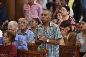 """Xalapa, Ver., 18 de agosto de 2019.- El arzobispo de Xalapa Hipólito Reyes Larios, lamentó que hoy en día las familias se dividan por cuestiones religiosas o políticas, """"cuando son de distintos partidos políticos, pero ahí no es culpa de Dios""""."""