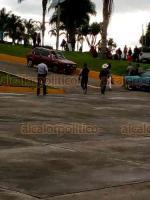 Totutla, Ver., 19 de agosto de 2019.- Habitantes de la comunidad de Calcahualco, bloquearon la carretera Totutla-Xalapa, en el entronque del tramo estatal Huatusco-Conejos.
