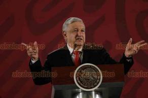 Ciudad de México, 20 de agosto de 2019.- En Palacio Nacional, el presidente Andrés Manuel López Obrador afirmó que se capacita a la Guardia Nacional y Fuerzas Armadas en respeto a derechos humanos, de la mujer y procedimientos.