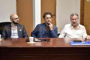 Xalapa, Ver., 20 de agosto de 2019.- Integrantes del Ayuntamiento de Xalapa se reunieron con la Delegación de Cremona, Italia, quienes dieron a conocer próximo hermanamiento con esta capital para intercambios culturales.