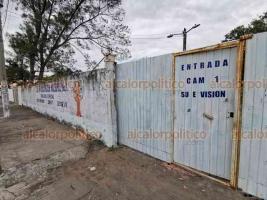 Veracruz, Ver., 21 de agosto de 2019.- Durante la última semana de la temporada vacacional de verano, el plantel ubicado en la colonia Astilleros ha sido saqueado en tres ocasiones.
