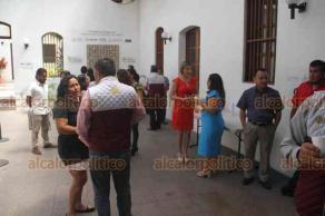 Xalapa, Ver., 22 de agosto de 2019.-Se llevó a cabo la presentación y recorrido guiado por la exposición