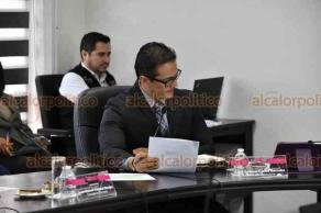 Xalapa, Ver., 22 de agosto de 2019.- Este jueves se llevó a cabo sesión ordinaria y extraordinaria del OPLE, presidida por el consejero presidente, Alejandro Bonilla Bonilla.