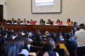 Xalapa, Ver., 23 de agosto de 2019.- En el Colegio de Notarios, se presentó el foro