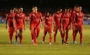 Veracruz, Ver., 23 de agosto de 2019.- El Club Deportivo Veracruz llegó a 32 partidos sin ganar, al perder 1 a 2 ante el Atlético de San Luis; una marca que lo ubica en el primer sitio del peor equipo sin ganar en la historia del futbol mundial.