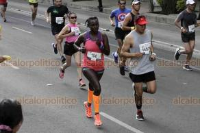 Ciudad de México, 25 de agosto de 2019.- Miles participaron en el XXXVII Maratón Internacional de la CDMX. Aunque no se registró la asistencia de público como en ediciones anteriores, el apoyo no faltó a los atletas.