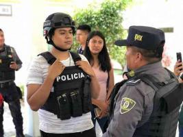 Orizaba, Ver., 19 de septiembre de 2019.- Más de 5 mil jóvenes asistieron a los eventos informativos y deportivos del SEGURIFEST, en el que destacó el IPAX.