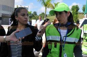 Xalapa, Ver., 19 de septiembre de 2019.- La Fiscalía de Veracruz participó en el Macrosimulacro de Sismo de este jueves.