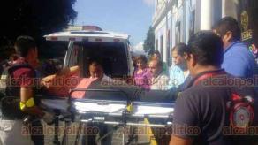 Coatepec, Ver., 19 de septiembre de 2019.- Se llevo a cabo un simulacro de evacuación en el Palacio Municipal de Coatepec, en el que participaron más de 400 empleados y cuerpos de emergencia.