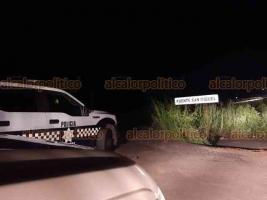 Acayucan, Ver., 21 de septiembre de 2019.- Vecinos hallaron el cadáver de una persona a la entrada del camino a la comunidad Plan de San Luis y dieron aviso a la Policía.