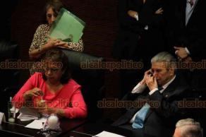 Ciudad de México, 15 de octubre de 2019.- El Senado de la República avaló en lo general la consulta popular y la revocación de mandato, pese a posturas de rechazo de algunos legisladores opositores.