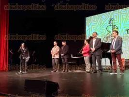 Xalapa, Ver., 23 de octubre de 2019.- Arrancó el Festival Internacional JazzUV. La noche de este miércoles, en el Teatro del Estado, el trío del histórico baterista de hard bop, Al
