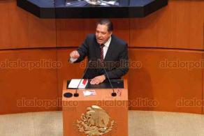 Ciudad de México, 12 de noviembre de 2019.- En el Senado, legisladores discuten la reposición del proceso para la elección del presidente de la CNDH. MORENA y la oposición chocan con descalificativos, argumentan irregularidades y robo de votos.