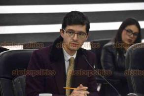 Xalapa, Ver., 13 de noviembre de 2019.- En sesión extraordinaria del Consejo General del OPLE, las organizaciones