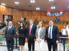 Xalapa, Ver., 14 de noviembre de 2019.- Rafael Ambrosio Caballero Verdejo rindió protesta como nuevo Contralor Interno de la Fiscalía General del Estado.
